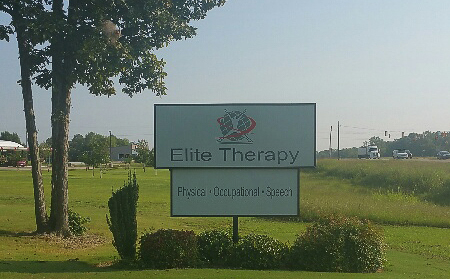 Baldwyn Physical Therapy Signage