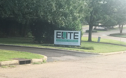 Brandon MS Elite Physical Therapy Sign