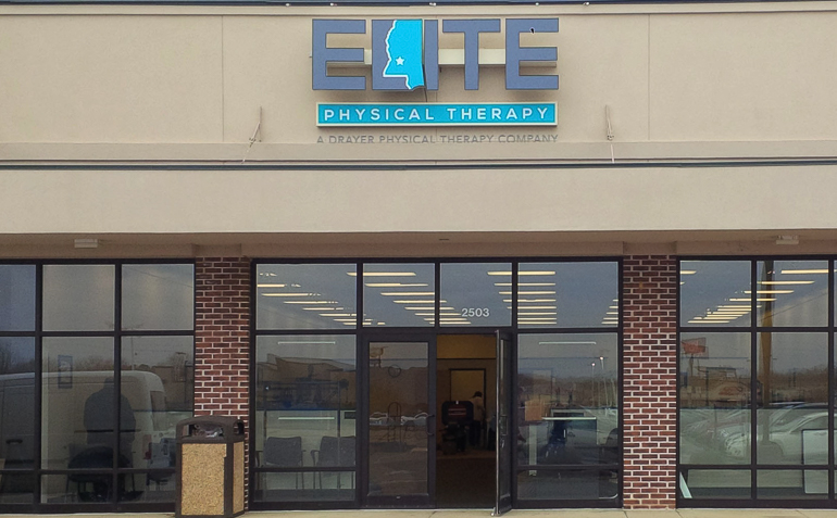 Corinth MS Elite Physical Therapy Clinic Exterior