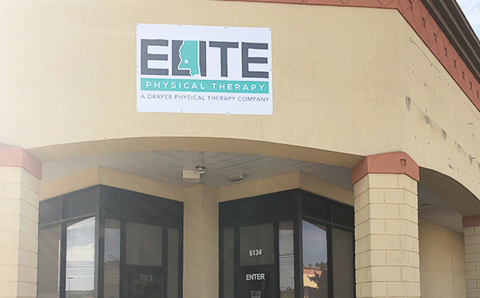 Hattiesburg MS Elite Physical Therapy Clinic Exterior