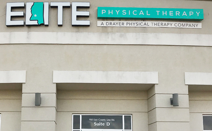 Ridgeland MS Elite Physical Therapy Clinic Exterior