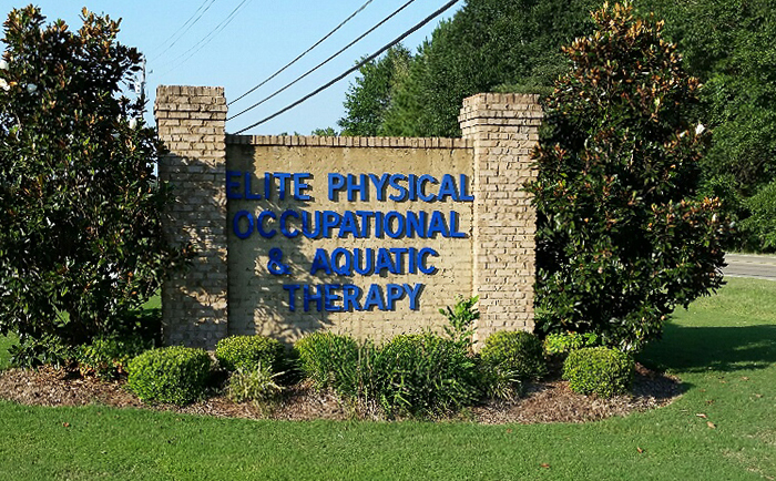 Saltillo MS Elite Physical Therapy Clinic Sign