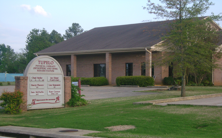 Tupelo MS Elite Physical Therapy Clinic Exterior