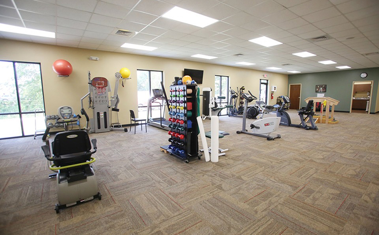 BenchMark Physical Therapy, Clinton, MS Exercise Equipment
