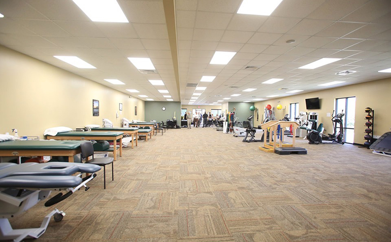BenchMark Physical Therapy, Clinton, MS Clinic Interior